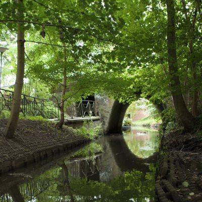 Brücke über die Blumenthaler Aue
